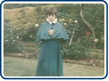 Austin Vince when he was an altar boy